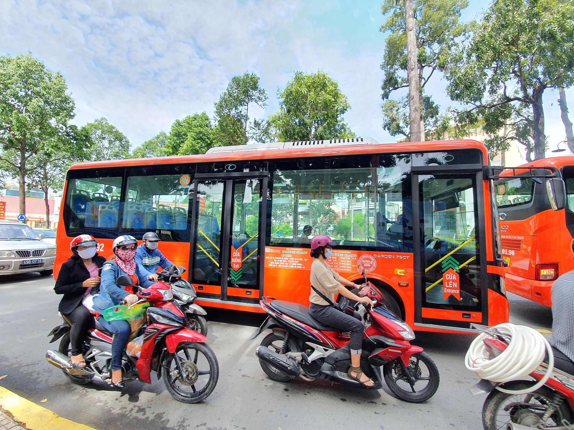 Sự có mặt của xe buýt chất lượng cao trong TP Cần Thơ hướng tới xây dựng một đô thị văn minh, tiên tiến.