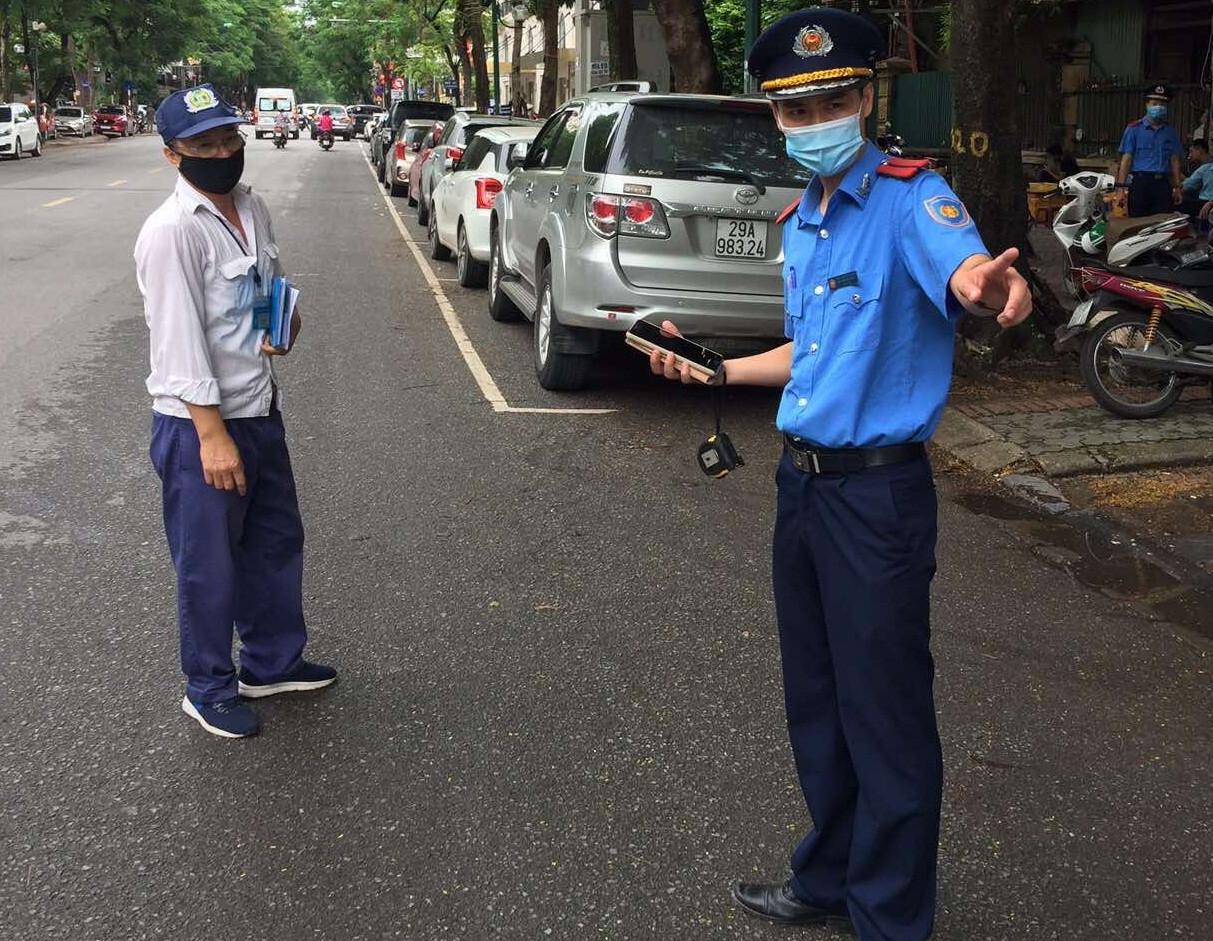 Lực lượng Thanh tra GTVT kiểm tra, xử lý vi phạm hành chính trong lĩnh vực quản lý trật tự đô thị