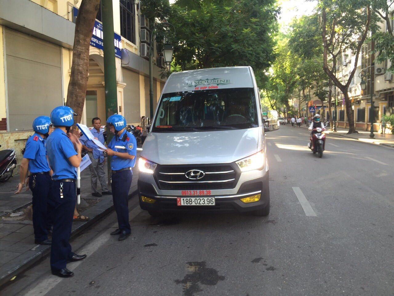 Lực lượng Thanh tra GTVT kiểm tra, xử lý vi phạm hành chính trong lĩnh vực hoạt động vận tải hành khách