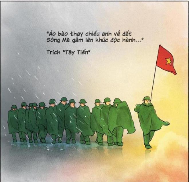 Dân mạng nghẹn ngào tiếc thương 13 cán bộ, chiến sĩ hy sinh ở Rào Trăng 3 - 1
