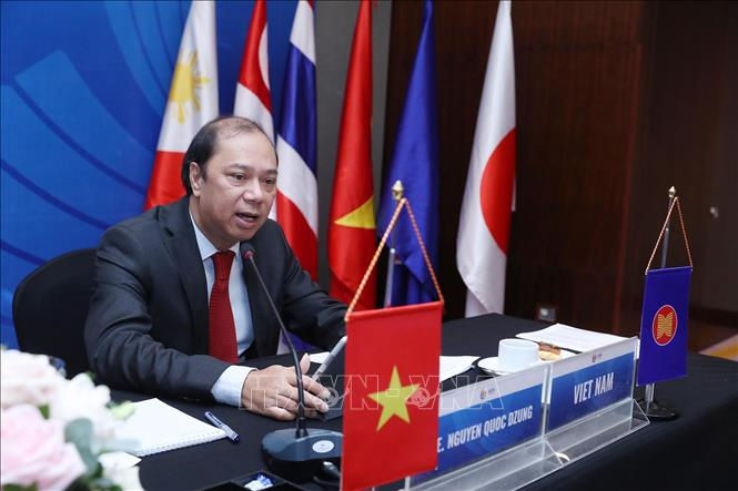 Hội nghị các Chuyên gia Cấp cao Đông Á về hợp tác ứng phó COVID-19 - ảnh 1