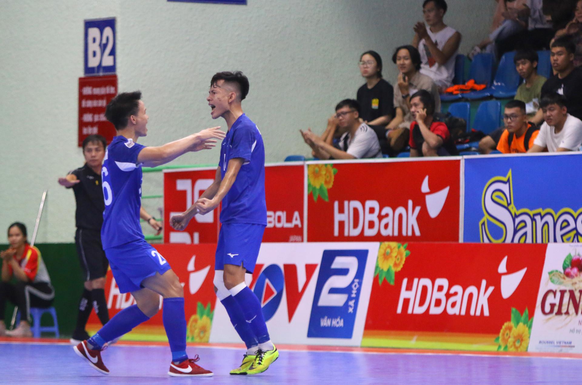 Vòng 16 Futsal HDBank VĐQG 2020: Kịch tính cuộc đua top 3 - 1