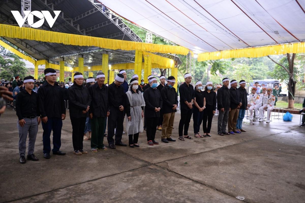 TRỰC TIẾP: Lễ viếng, truy điệu 13 liệt sĩ hy sinh tại thủy điện Rào Trăng 3 - 7