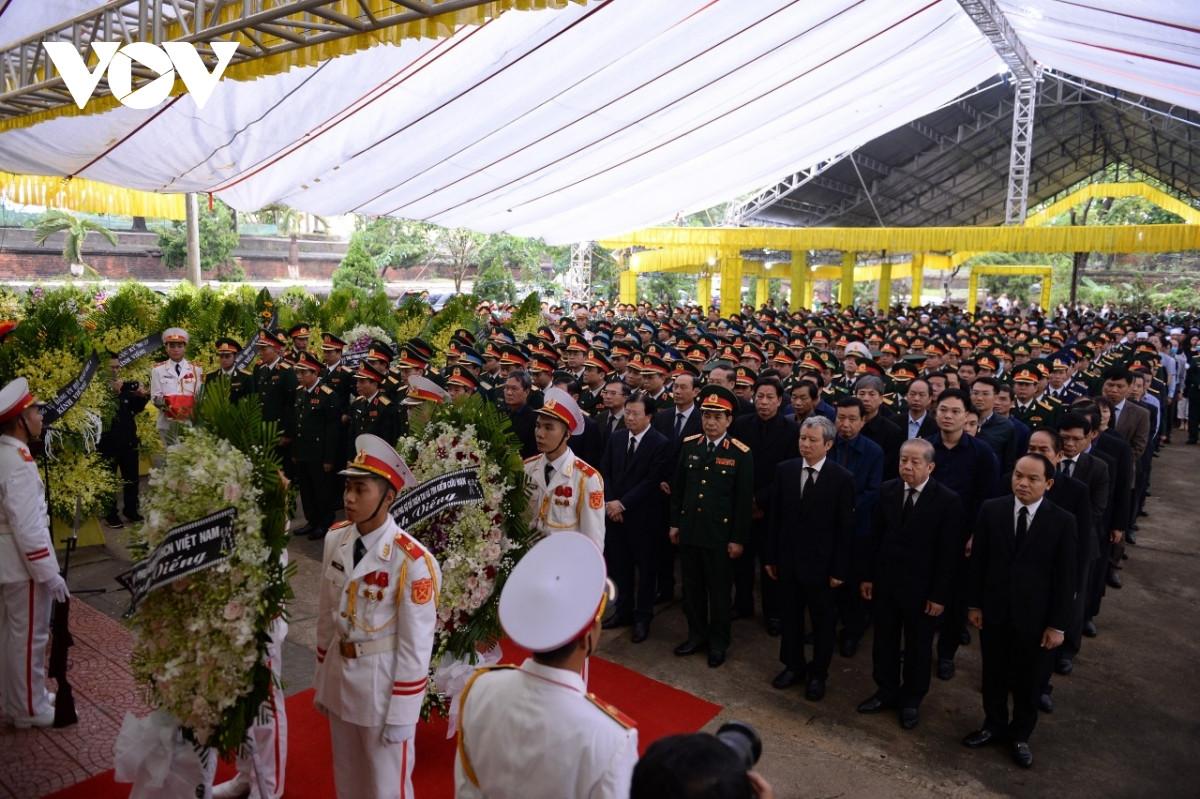 TRỰC TIẾP: Lễ viếng, truy điệu 13 liệt sĩ hy sinh tại thủy điện Rào Trăng 3 - 4