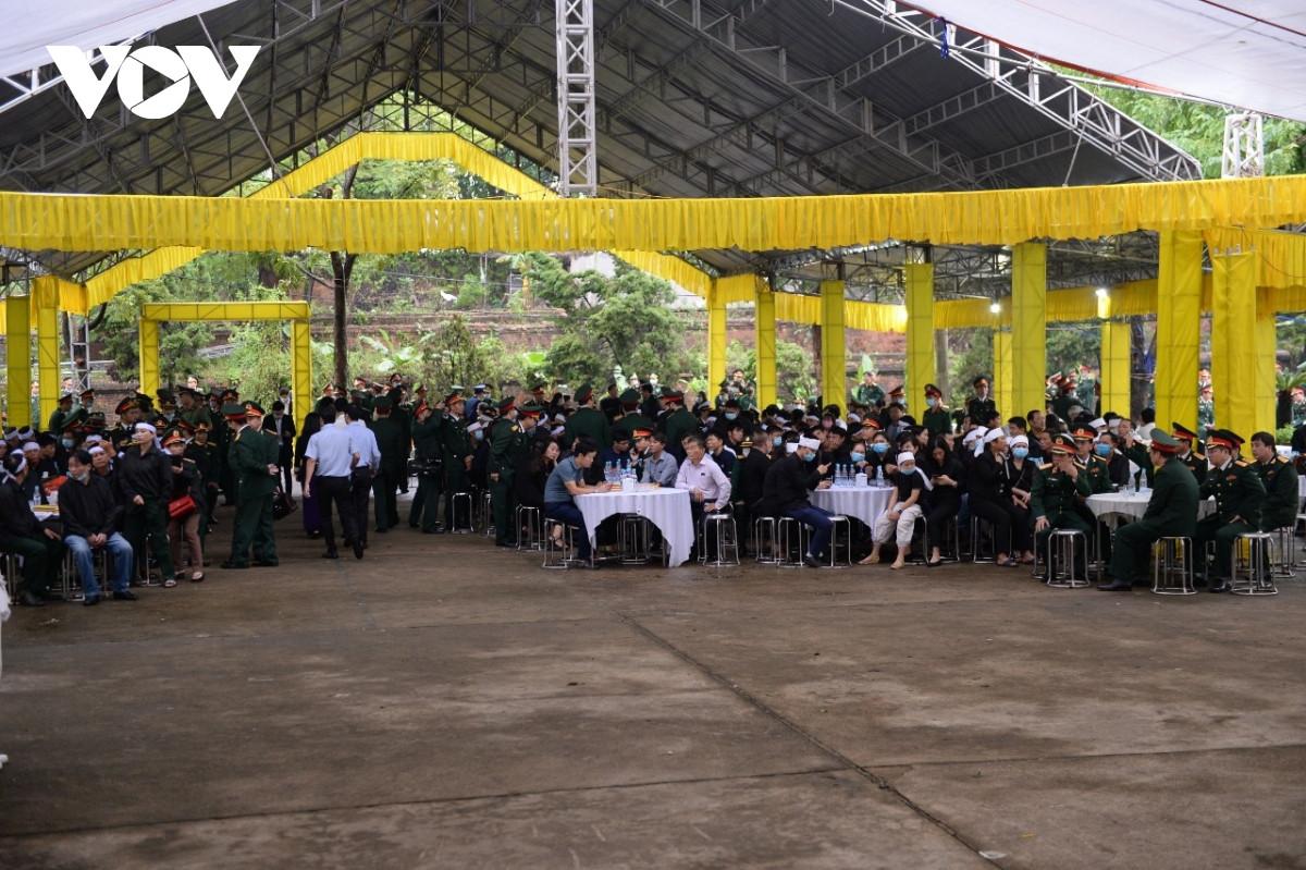 TRỰC TIẾP: Lễ viếng, truy điệu 13 liệt sĩ hy sinh tại thủy điện Rào Trăng 3 - 6