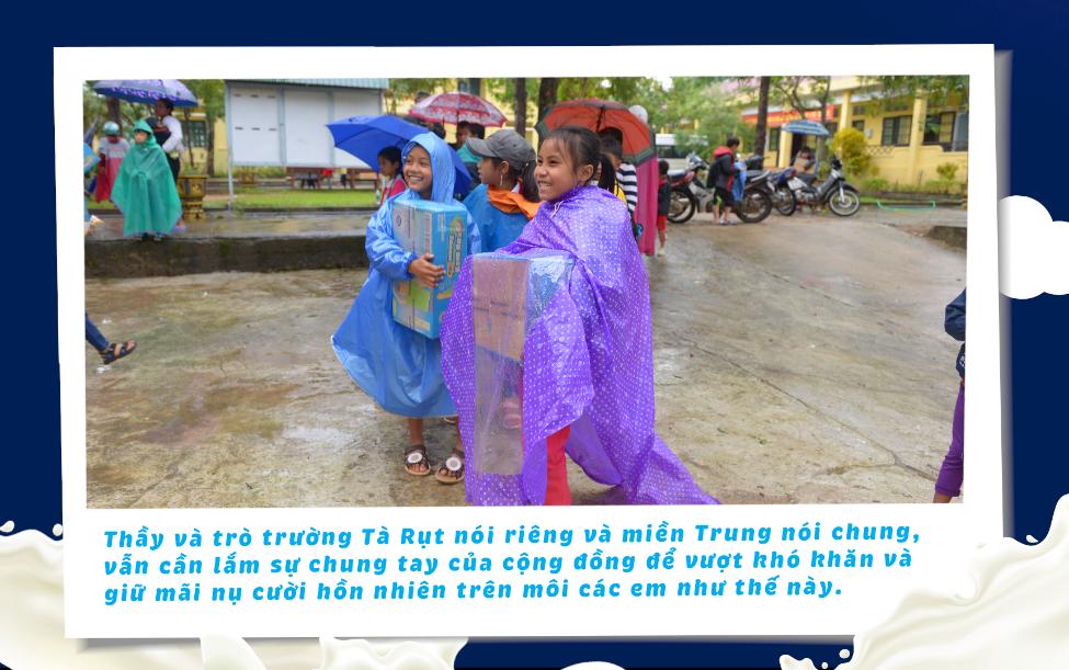 Nguồn dinh dưỡng sưởi ấm đường đến trường của học sinh vùng lũ Quảng Trị - 4