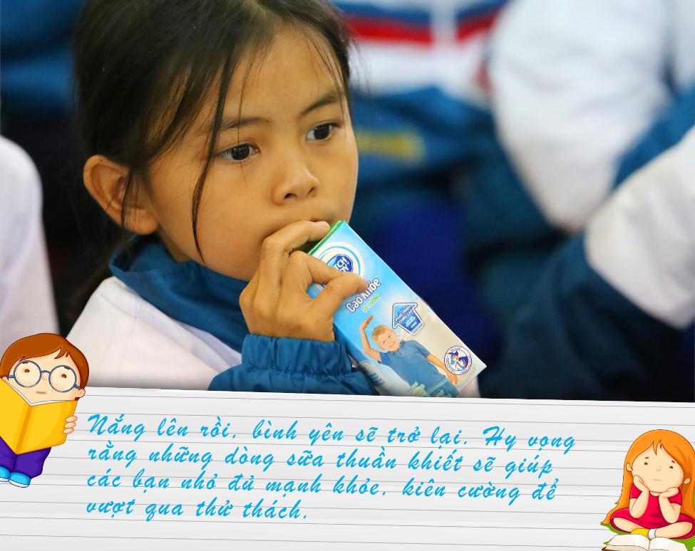 Nguồn dinh dưỡng sưởi ấm đường đến trường của học sinh vùng lũ Quảng Trị - 9
