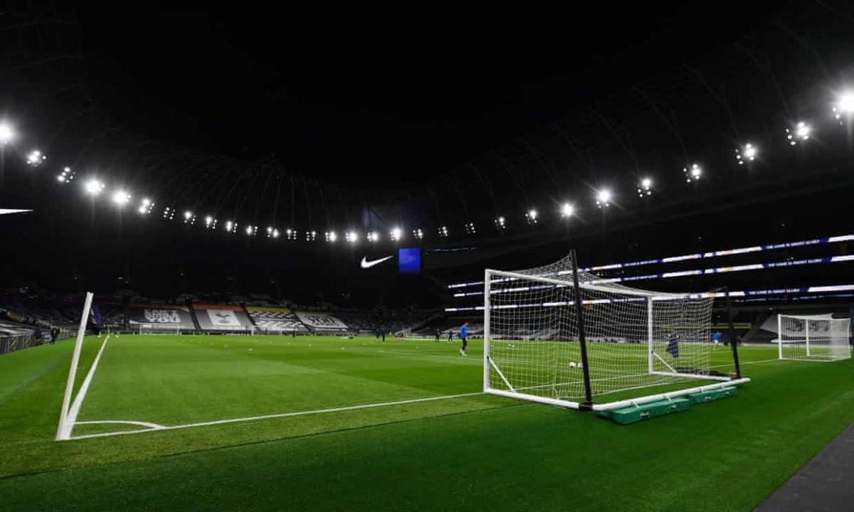 Sân vận động Tottenham Hotspur trước giờ bóng lăn. (Ảnh: Getty)