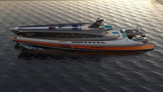 Cận cảnh siêu du thuyền 'cá mập' giá 550 triệu USD - 10