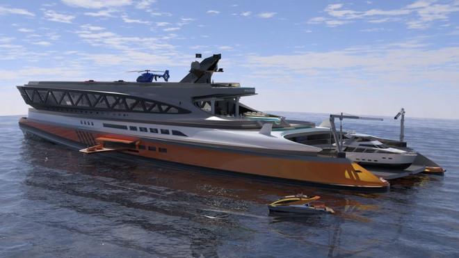 Cận cảnh siêu du thuyền 'cá mập' giá 550 triệu USD - 6