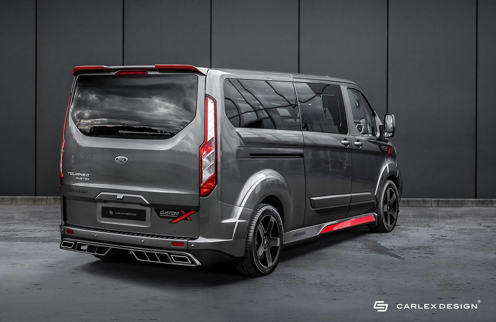 Ford Transit Connect bất ngờ hóa xe sang nhờ bản độ của Carlex Design - 3