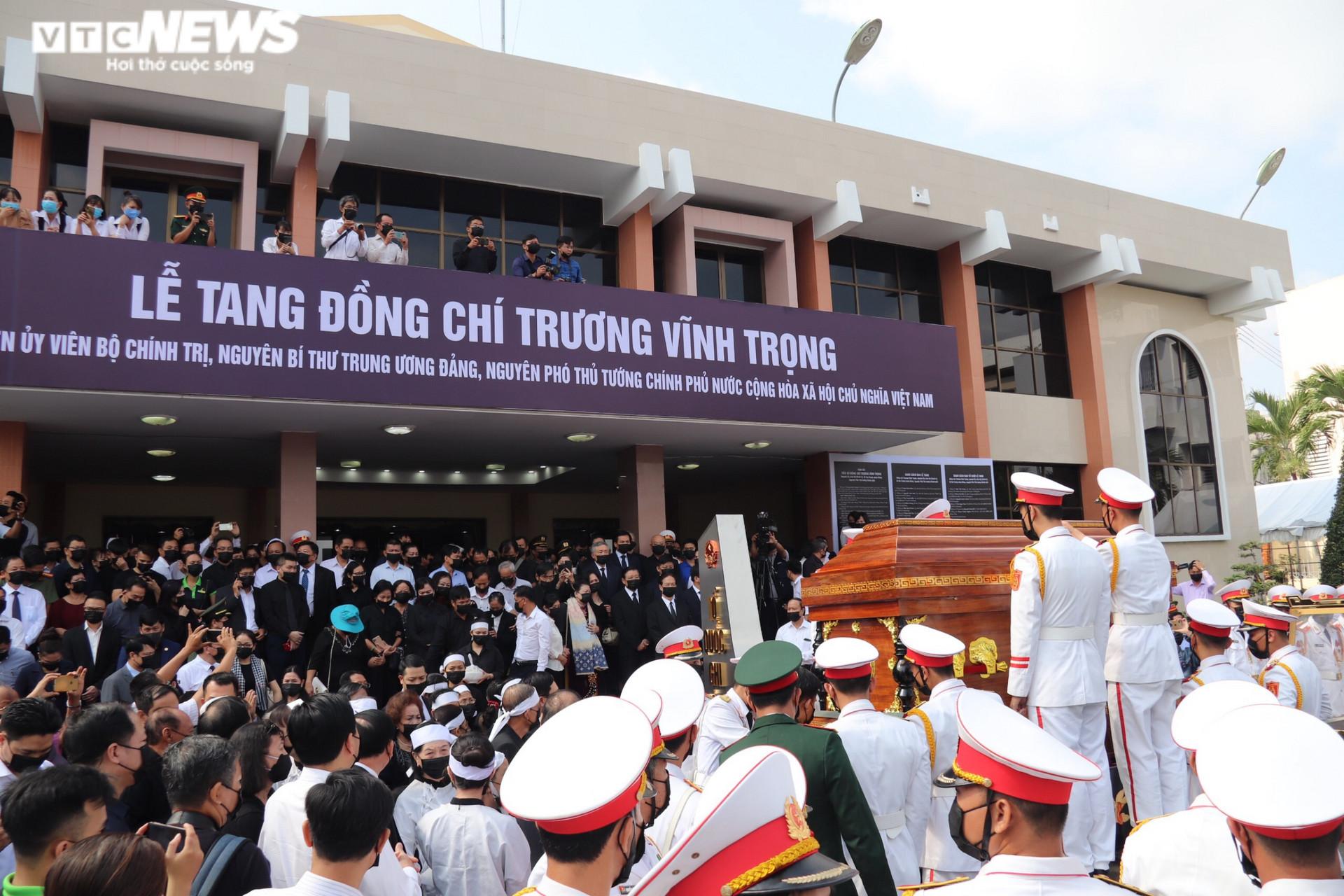 Ảnh: Tiễn đưa nguyên Phó Thủ tướng Trương Vĩnh Trọng về với đất mẹ - 1