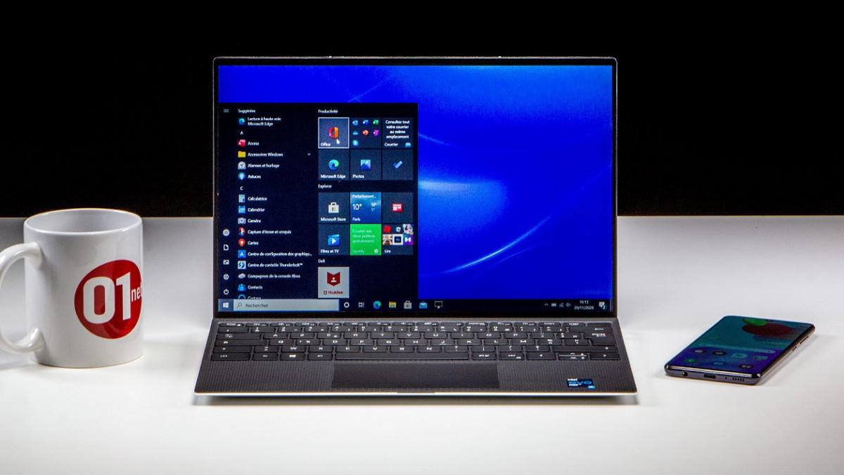 Dell XPS 13 (Hiver 2020) được trang bị 1 trong những bộ vi xử lý Intel Core thế hệ thứ 11 mới nhất nên là máy tính siêu di động 13,4 inch tốt nhất dùng cho Windows 10 ở thời điểm này.