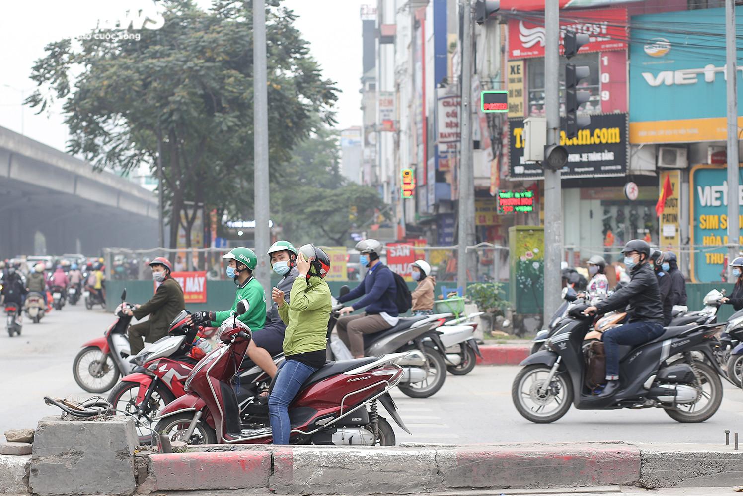 Hầm chui 700 tỷ đồng bị 'tuýt còi', nút thắt cổ chai ở Hà Nội được giải tỏa - 6