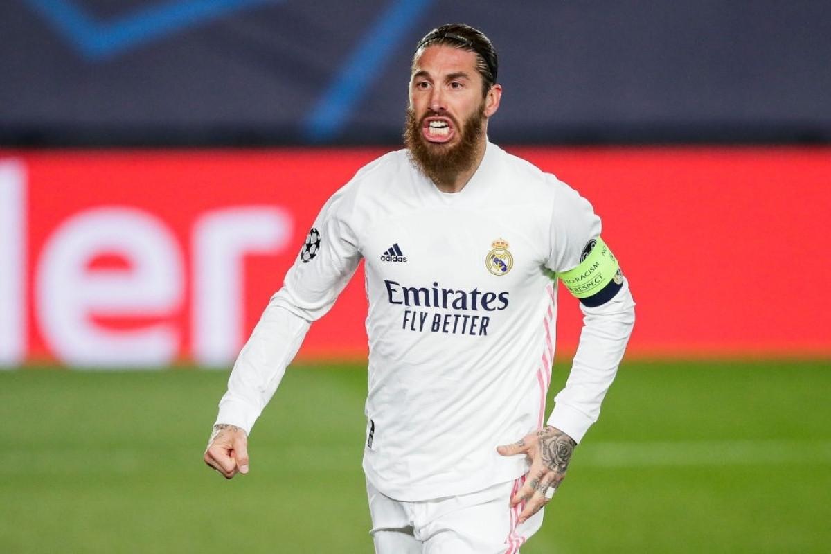 Ramos chưa tìm được tiếng nói chung trong việc gia hạn hợp đồng với Real Madrid (Ảnh: Getty).