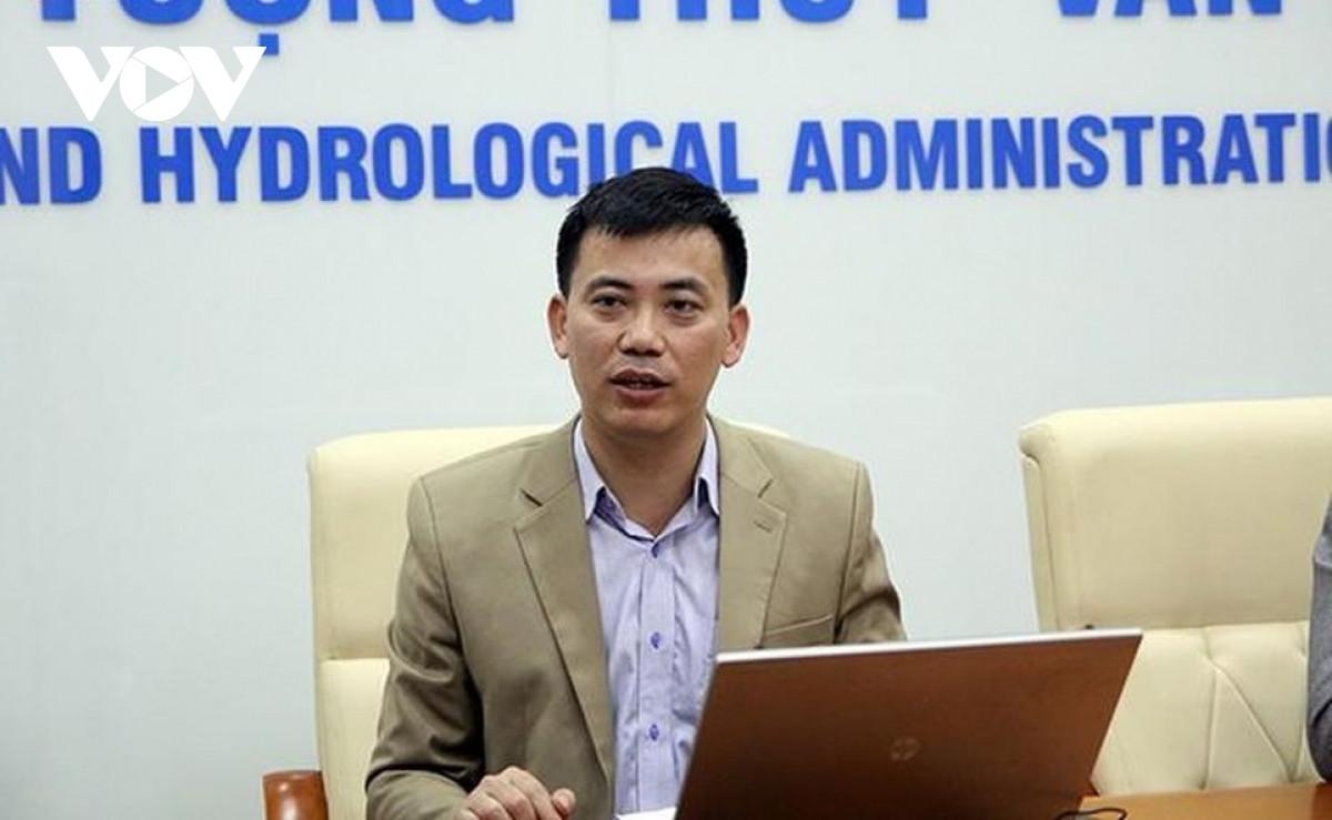 Ông Nguyễn Văn Hưởng Trưởng phòng Dự báo Khí hậu, Trung tâm Dự báo KTTV quốc gia