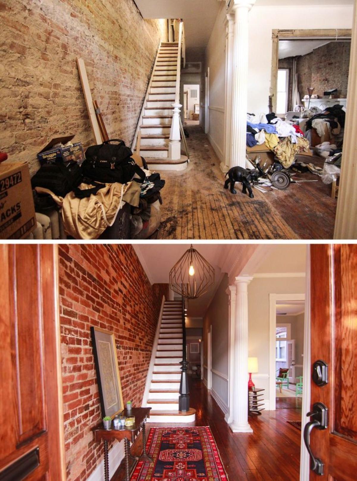 Ngôi nhà 100 năm tuổi sau khi được tu sửa và trang trí.