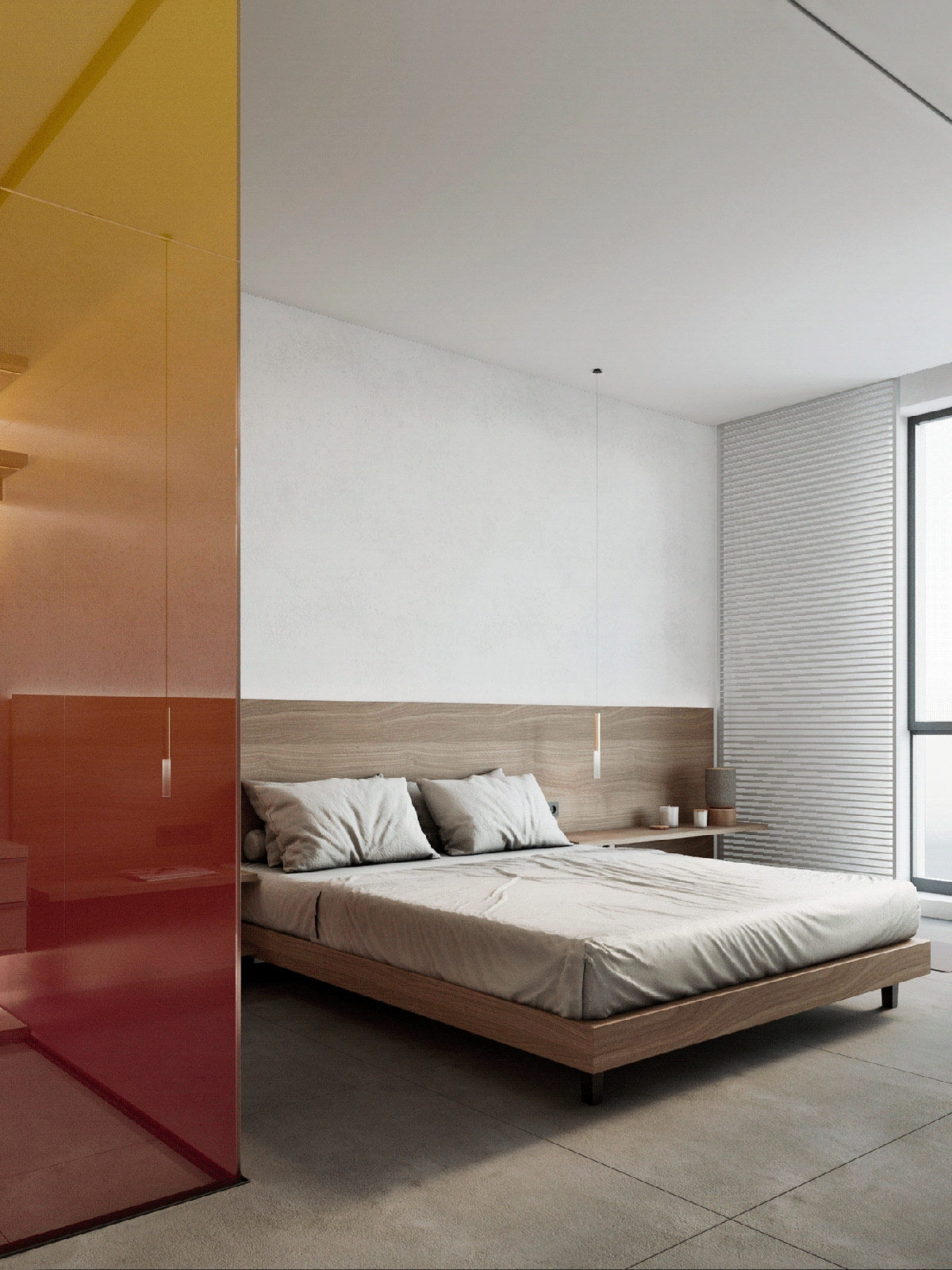 Phòng ngủ sang trọng, ấm cúng và trang nhã.