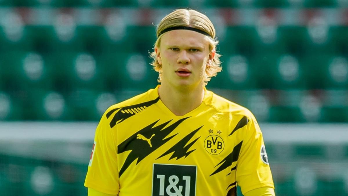 Dortmund hét giá Erling Haaland 100 triệu Euro (Ảnh: Getty).
