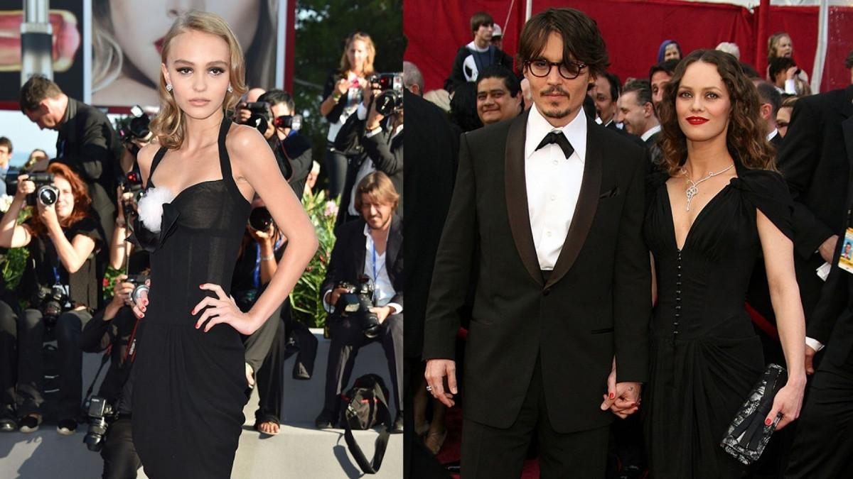 Lily-Rose Depp là con gái củanam tài tử Johnny Depp và nữ danh ca Vanessa Paradis.