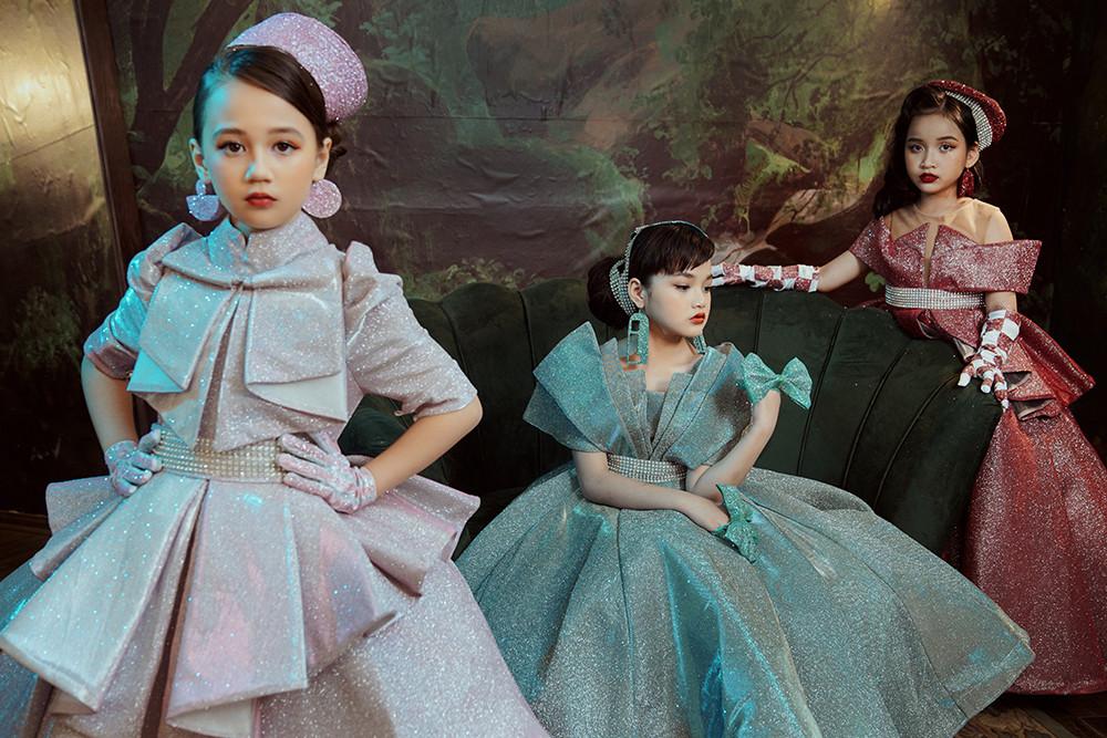 Dàn mẫu nhí hóa công chúa bước ra từ truyện cổ tích - 5