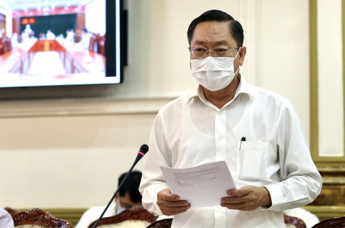 Giám đốc Sở Y tế TPHCM Nguyễn Tấn Bỉnh. Ảnh: Hà An
