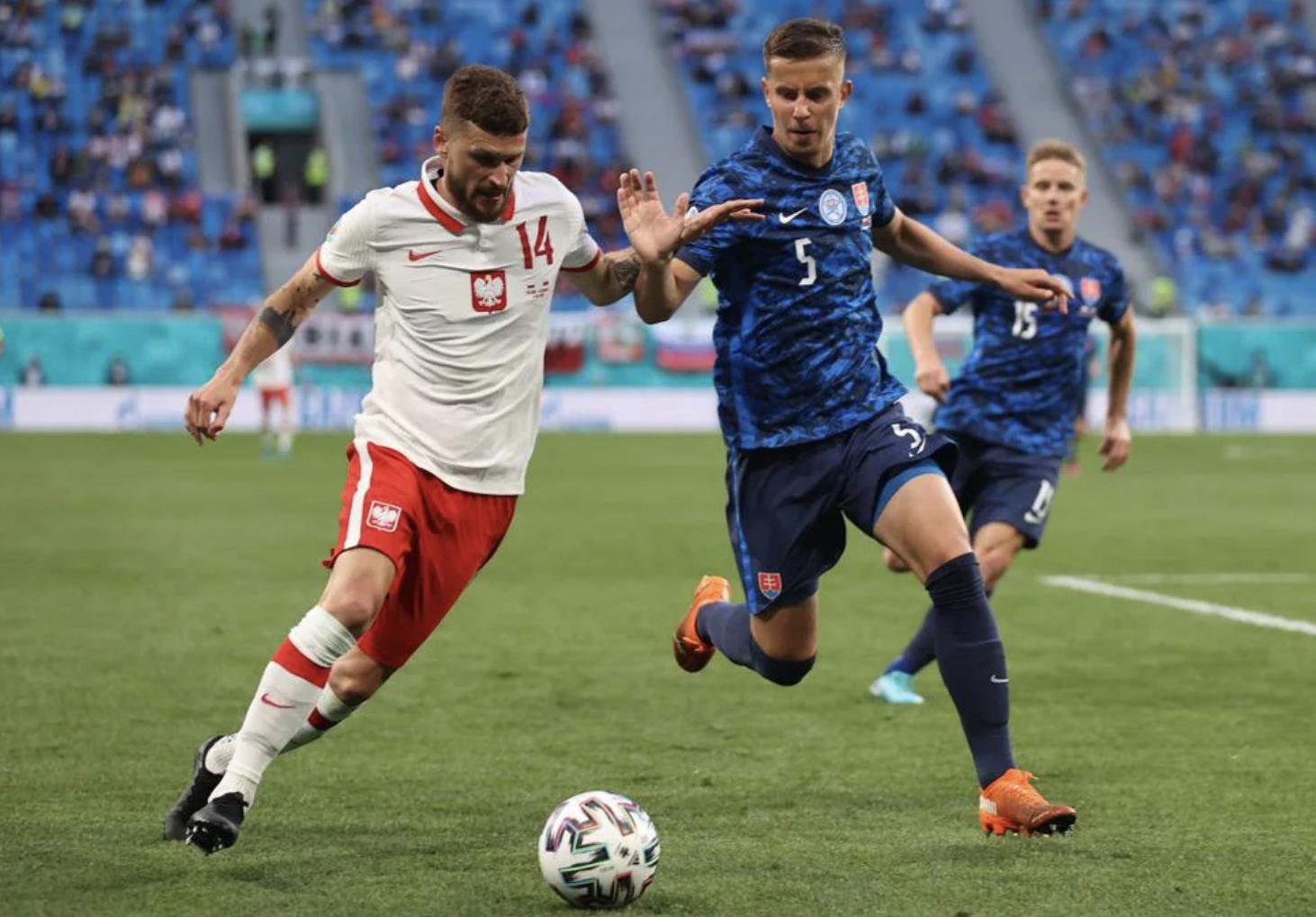 Kết quả bóng đá EURO: Lewandowski tịt ngòi, Ba Lan thua đau trước Slovakia  - 1