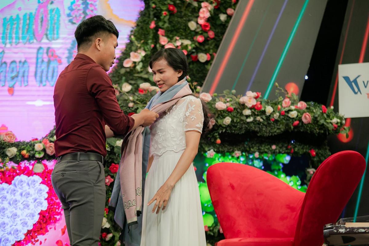 Hình ảnh cặp đôi tại chương trình.