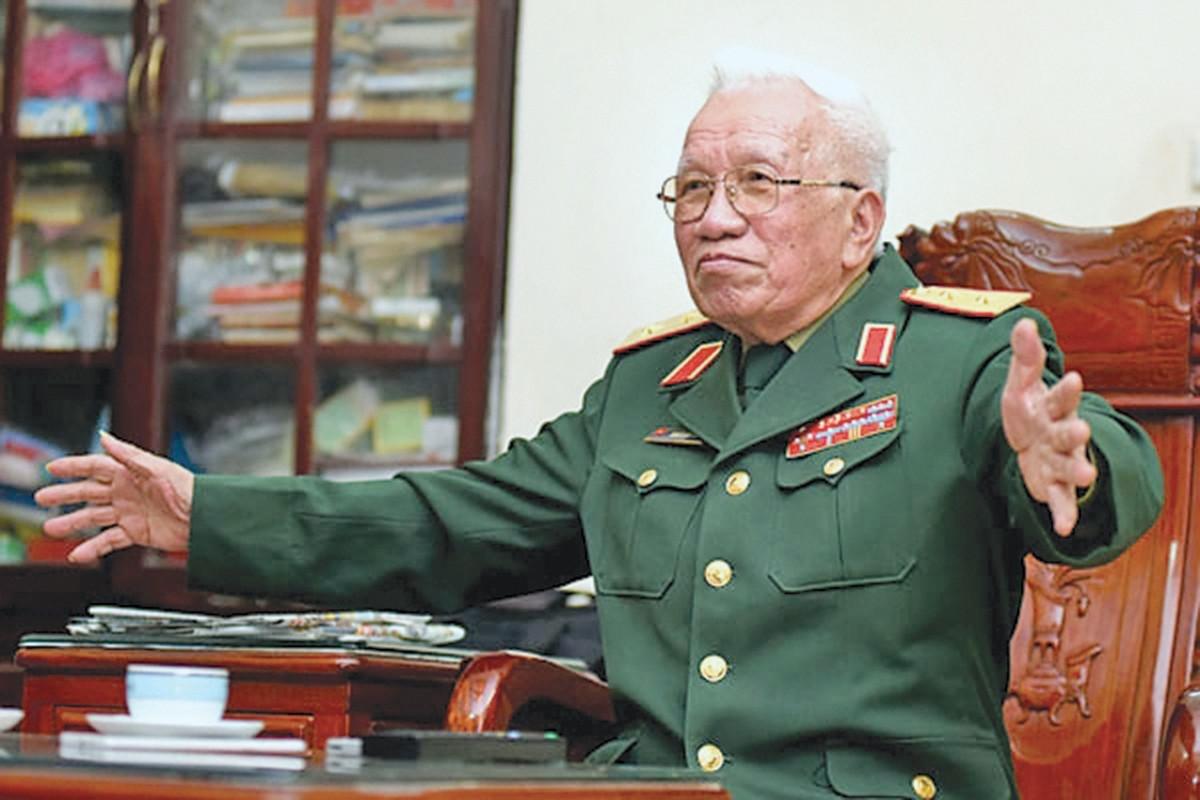 Trung tướng Khuất Duy Tiến. (Ảnh: Anh Công)