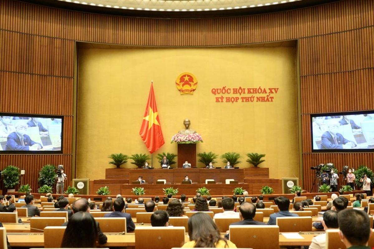 Kỳ họp thứ nhất, Quốc hội khóa XV chỉ diễn ra trong 9 ngày.