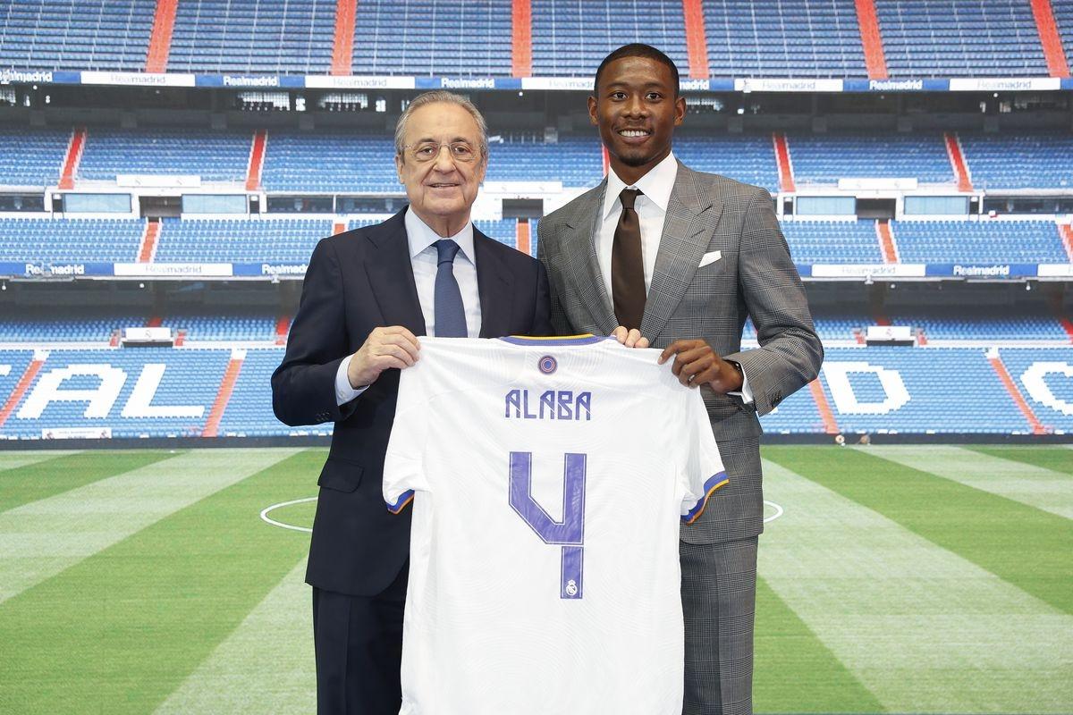 7. David Alaba từ Bayern Munich sang Real Madrid theo dạng chuyển nhượng tự do