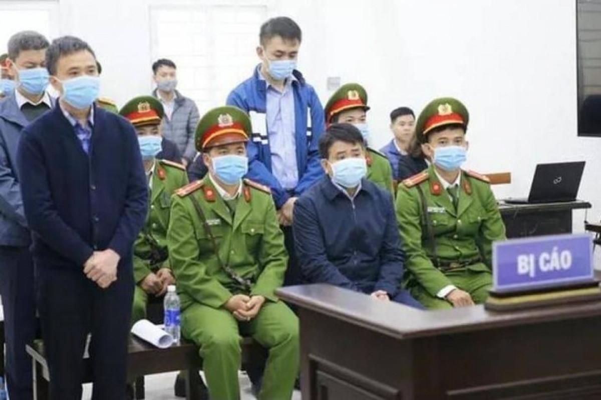 """Nguyên Chủ tịch UBND TP.Hà Nội Nguyễn Đức Chung bị kết án 5 năm tù vì liên quan vụ án """"Chiếm đoạt tài liệu bí mật Nhà nước""""."""