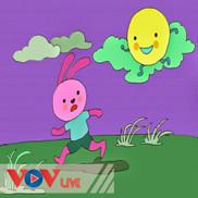 Thỏ con và mặt trăng