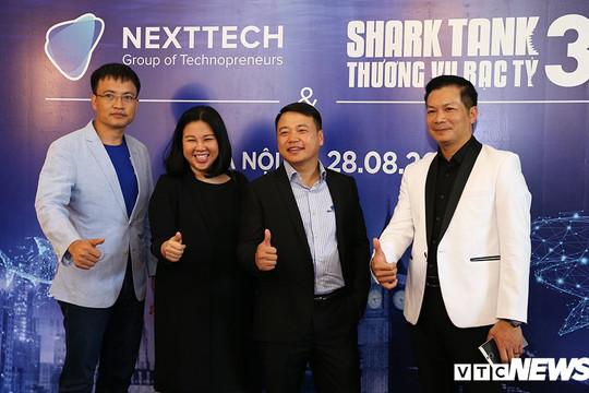 Chủ tịch NextTech Group ngồi ghế nóng Shark Tank