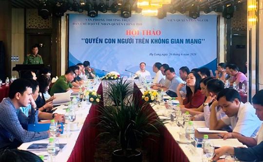 Việt Nam luôn tôn trọng và đảm bảo quyền con người trên không gian mạng