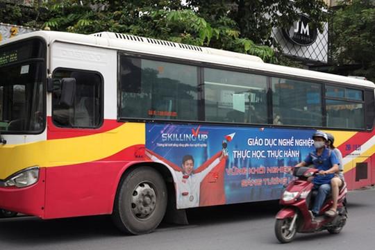 Xe bus truyền thông Giáo dục nghề nghiệp