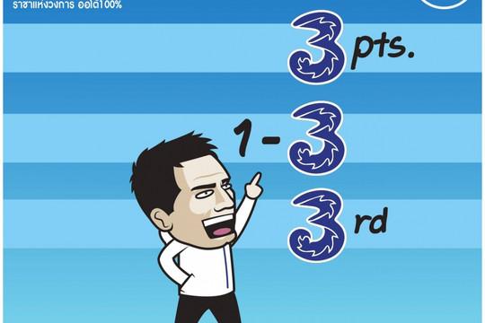 "Biếm họa 24h: Chelsea xứng danh ""Chú Ba"" Premier League"