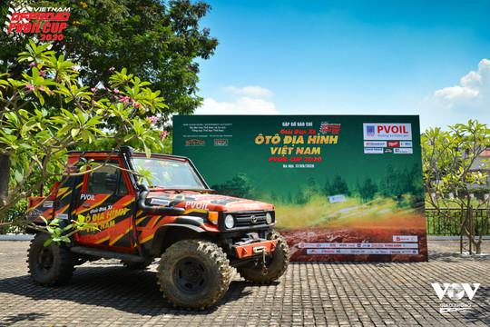 Khởi động Giải đua Ô tô Địa hình Việt Nam PVOIL CUP 2020