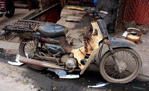 Đổi cũ lấy mới và bài toán thu hồi xe máy cũ nát