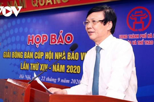 208 VĐV tranh tài ở Giải Bóng bàn Cúp Hội Nhà báo Việt Nam năm 2020