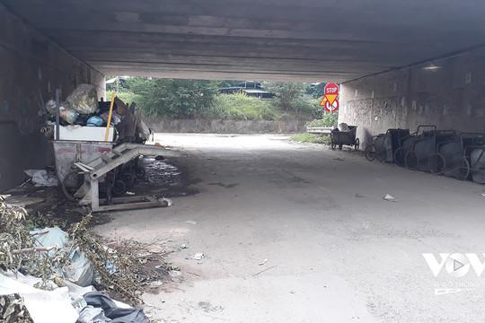 Cải tạo hầm chui đường gom Đại lộ Thăng Long nhưng cũng nên tổ chức lại giao thông
