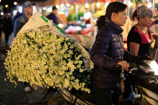 Hà Nội đến và yêu: Nhộn nhịp chợ hoa Quảng Bá
