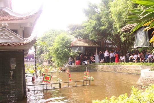 Độc đáo rối nước làng Đồng Ngư