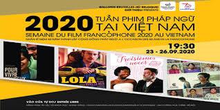 """Tuần phim Pháp ngữ 2020"""" tại Việt Nam kỷ niệm 50 năm ngày thành lập cộng đồng tiếng Pháp (28/9/2020)"""