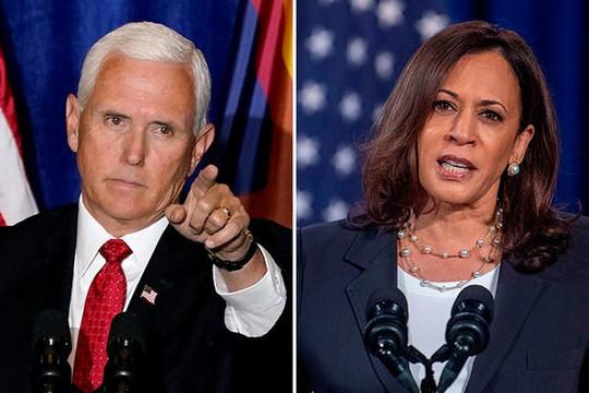 Trực tiếp bầu cử Mỹ: Cuộc tranh biện giữa  Mike Pence và Kamala Harris