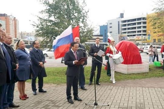 Dựng tượng Chủ tịch Hồ Chí Minh tại thành phố Saint Petersburg, biểu tượng mới của tình hữu nghị Việt-Nga