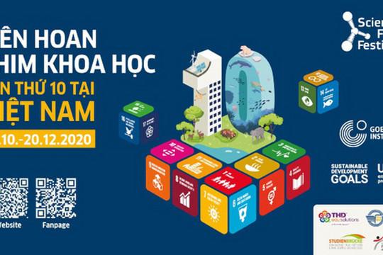 Liên hoan Phim khoa học 2020 vì mục tiêu phát triển bền vững (12/10/2020)