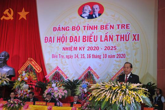 Phó Thủ tướng Trương Hòa Bình: Bến Tre tập trung phát triển hạ tầng giao thông ven biển