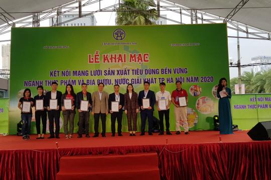 Kết nối mạng lưới sản xuất bền vững ngành thực phẩm và nước giải khát Hà Nội