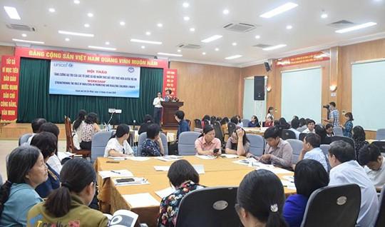 Tăng cường vai trò của các tổ chức xã hội trong thực hiện quyền trẻ em
